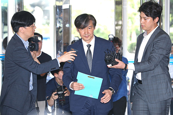 Political Parties Clashing Over Justice Minister Nominee Cho Kuk