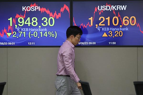 KOSPI Turun 0,14% pada Hari Jumat