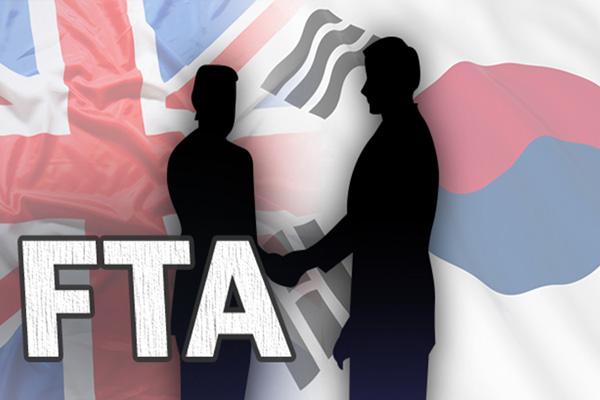 Südkorea und Großbritannien unterzeichnen Freihandelspakt