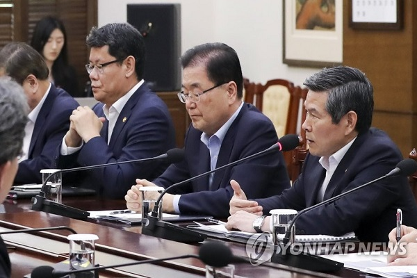 Pres. Office Express Serious Concern over N. Korea's Continued Launch