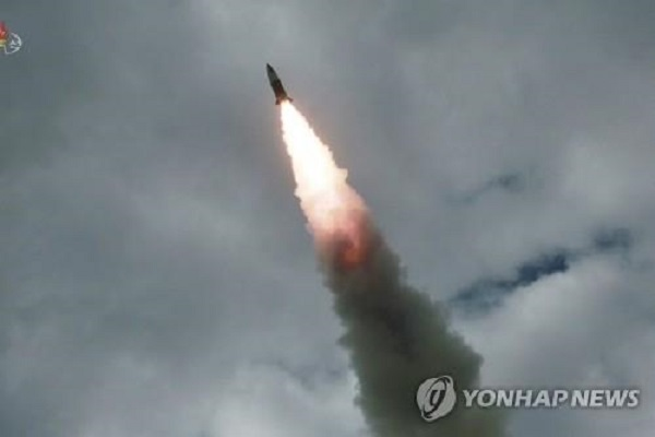 北韓、再び飛翔体発射