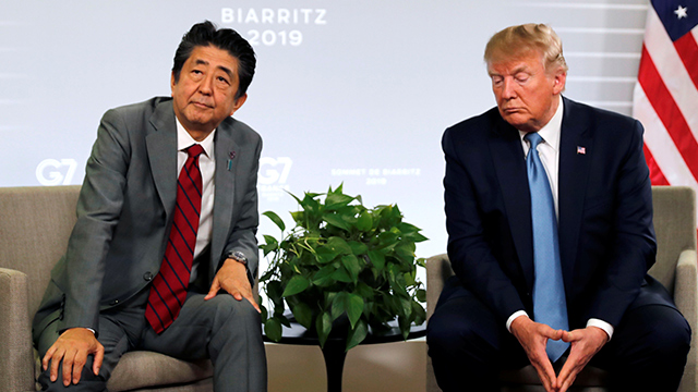 Trump, Abe Show Differences on N. Korea Missile Launches