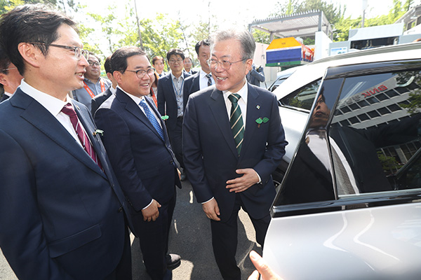 Fuel Cell Car Has Become S. Korea's Presidential Vehicle