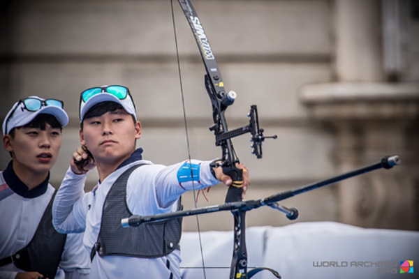 金炫宗世界青年射箭锦标赛摘3金