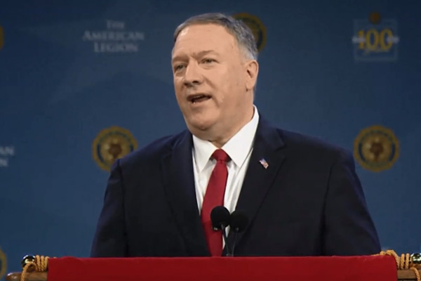 Pompeo: N. Korea's Rogue Behavior Can't be Ignored