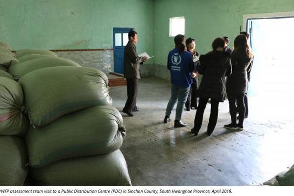 WFP Projects N. Korea's Food Shortages Will Worsen in 2nd Half