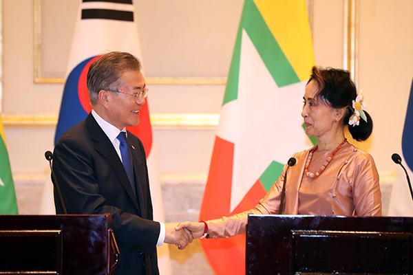 Südkorea und Myanmar wollen Wohlstand durch Entwicklungszusammenarbeit mehren
