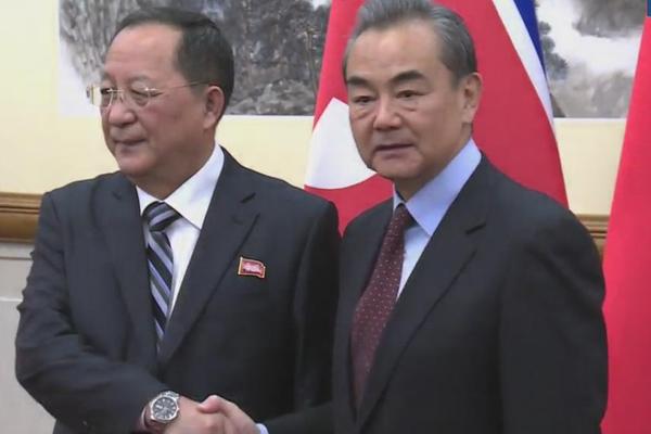В Пхеньяне состоялась встреча глав МИД КНДР и КНР
