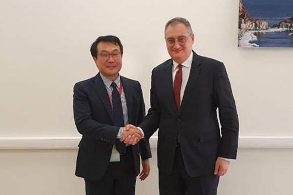 Đại diện hạt nhân Hàn-Nga thảo luận tình hình bán đảo Hàn Quốc