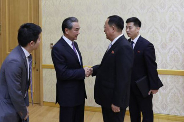 China's FM Stresses