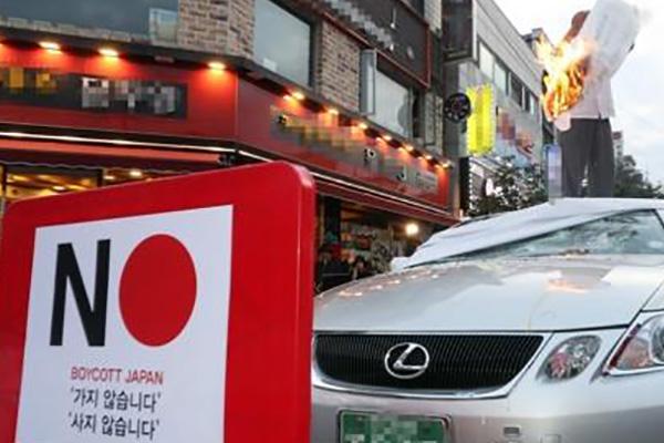 انخفاض مبيعات السيارات اليابانية إلى النصف في أغسطس
