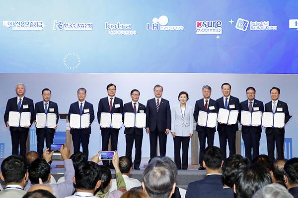Präsident Moon hofft auf Beitrag von Korea-Myanmar-Industriekomplex für Myanmars Wirtschaftswachstum
