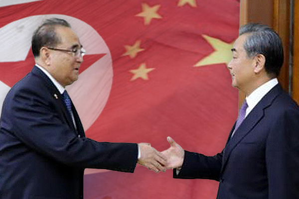 Ngoại trưởng Trung Quốc hội đàm với Phó Chủ tịch đảng Lao động miền Bắc