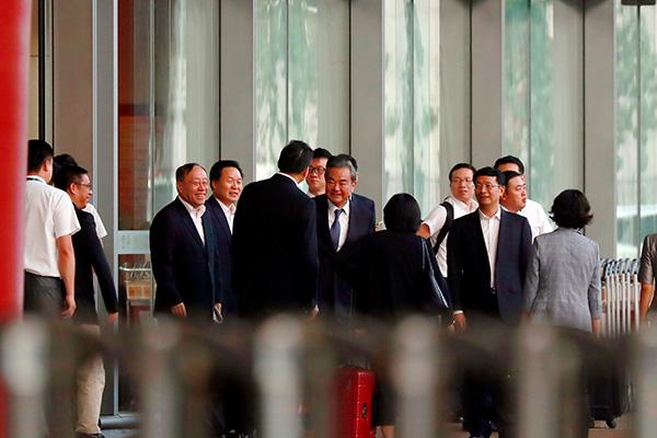 China's Top Diplomat, N. Korean Leader Appear Not to Have Met in Pyongyang
