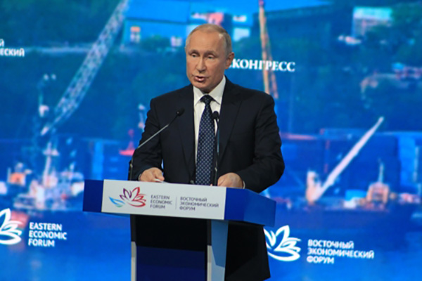 Putin 'Concerned' about Possible Short-range Missile Deployment to S. Korea, Japan