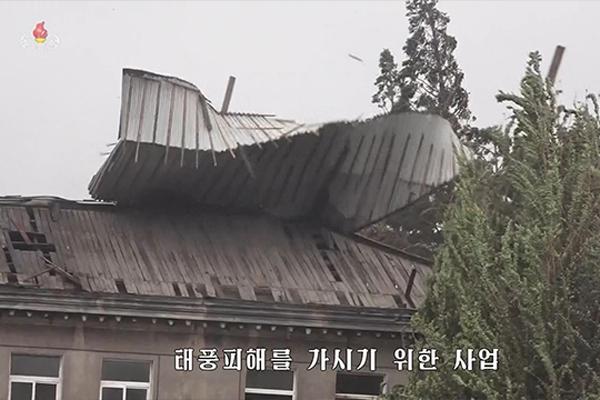 Tình hình thiệt hại do bão Lingling ở Bắc Triều Tiên