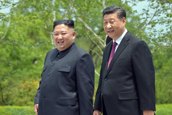 Xi gratuliert Kim zum 71. Jubiläum der Staatsgründung