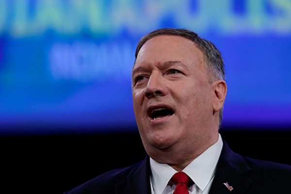 Pompeo: Trump 'Very Disappointed' if Kim Does Not Return to Negotiating Table