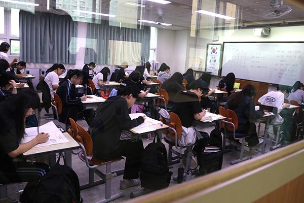 2020学年度韩国高考14日开考 考生54.8万人