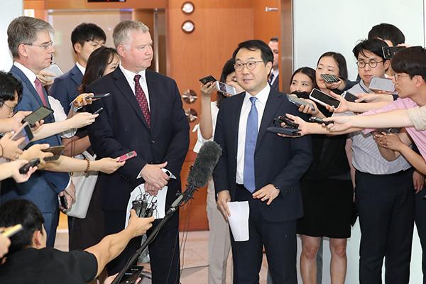 Đặc phái viên Hàn-Mỹ điện đàm sau đề xuất đối thoại của Bình Nhưỡng