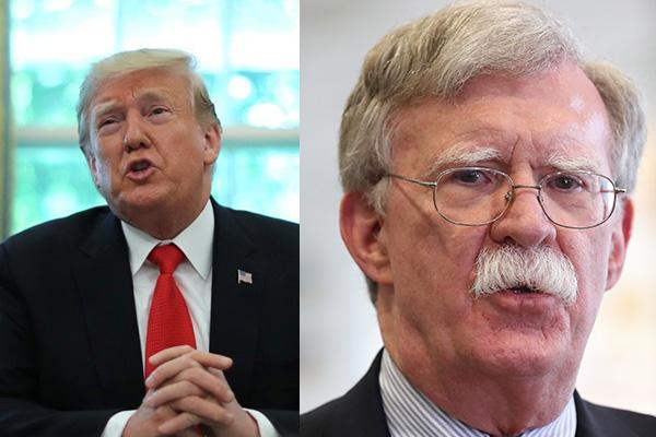 Trump despide a John Bolton, asesor de Seguridad Nacional