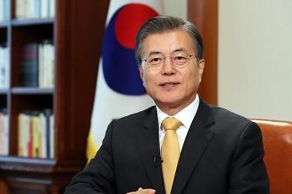 Moon Jae-in présente ses vœux de Chuseok