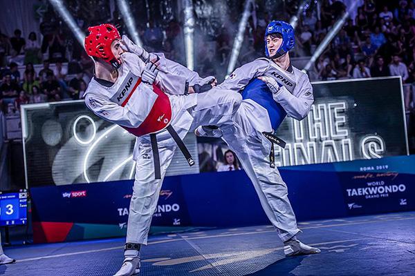 Coup d'envoi du Grand prix de taekwondo au Japon