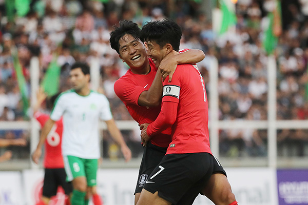 サッカー韓国代表が帰国 次はスリランカ、北韓と