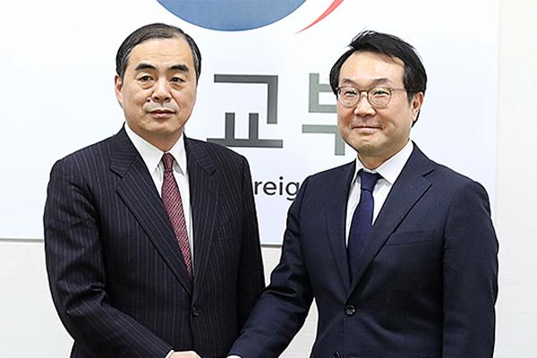 Спецпредставители РК и Японии по КНДР провели телефонный разговор