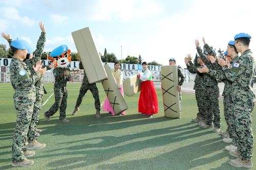 Südkoreanische Truppen im Ausland feiern Chuseok mit Einheimischen