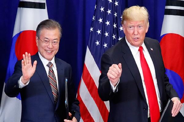 Moon y Trump mantendrán su novena cumbre en Nueva York