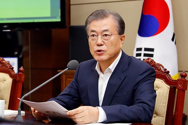 文在寅:韩国将为美北工作协商积极发挥作用