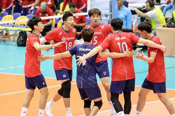 男子バレーボール、2次ラウンド初試合で台湾に勝利