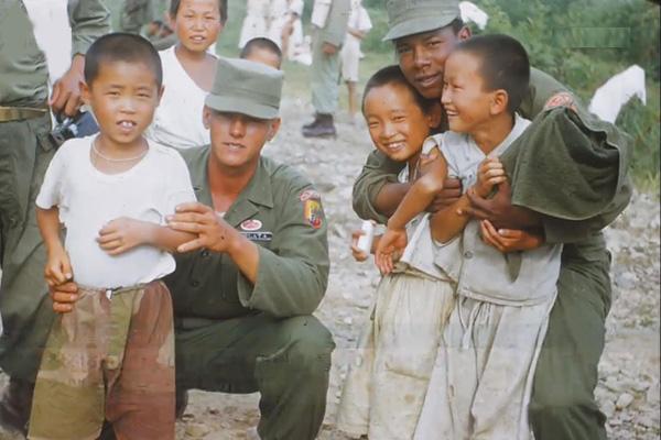 哥伦比亚韩战参战勇士照片被首次公开