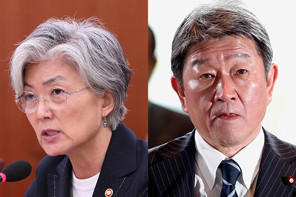 韓日外相会談 来週の国連総会に合わせて開催か