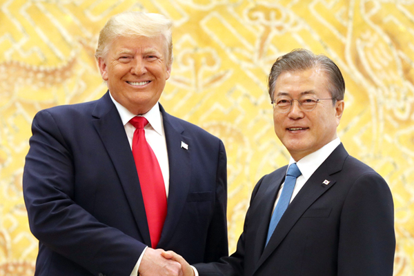 Moon, Trump to Hold Summit on Sidelines of UN General Assembly Next Week