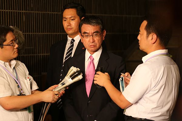 Japans Verteidigungsminister hofft auf Gespräche mit südkoreanischem Amtskollegen