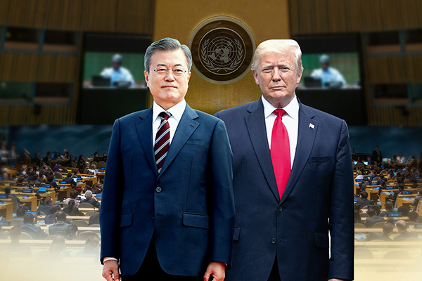 Le 9e sommet entre Moon Jae-in et Donald Trump se tiendra demain à New York