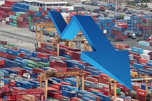 9월 1~20일 수출 21.8% 감소…일 평균치는 10.3% 감소