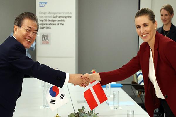 كوريا والدنمارك تتفقان على تعزيز التعاون القائم على النمو الأخضر