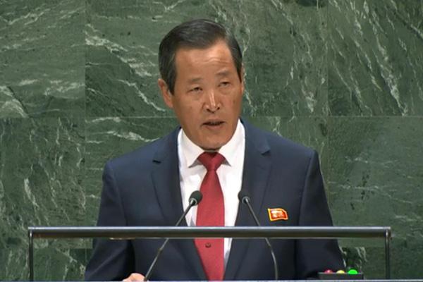 N. Korean Ambassador Blames US for Lack of Progress in Nuclear Talks