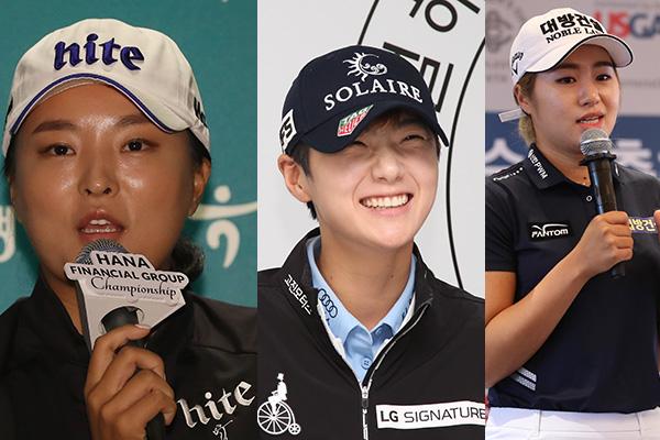 Các nữ golf thủ Hàn Quốc độc chiếm ba vị trí cao nhất thế giới