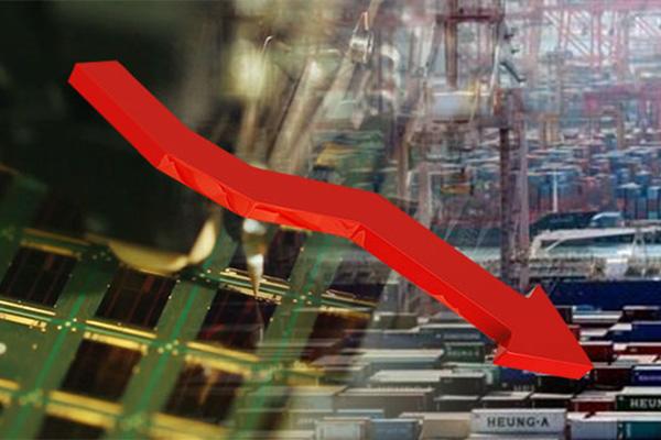 Xuất khẩu giảm 10 tháng liên tiếp