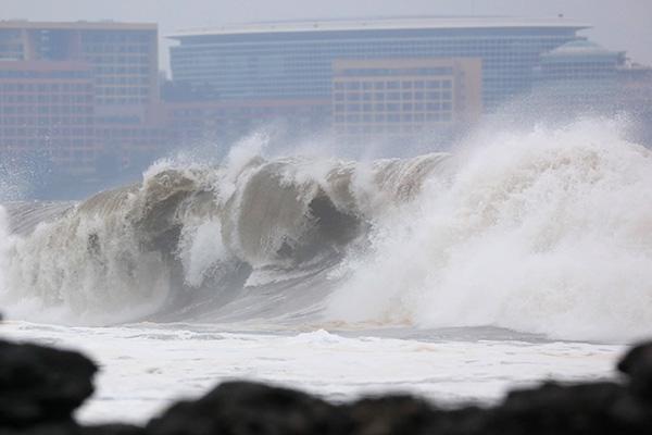 Topan Mitag Mendekat, Hujan Lebat di Pulau Jejudo dan Bagian Selatan Semenanjung Korea