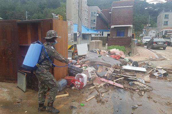 Von Taifun Mitag betroffene acht Orte zusätzlich zu Sonderkatastrophenzonen bestimmt