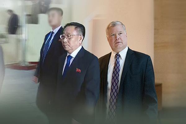 Washington afirma que llevó ideas creativas a la negociación con Pyongyang