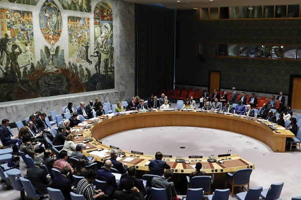 北韓にミサイル開発中止求める 安保理関連6か国
