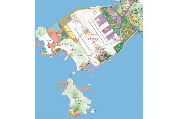 仁川空港付近 2022年には北東アジアのラスベガスに