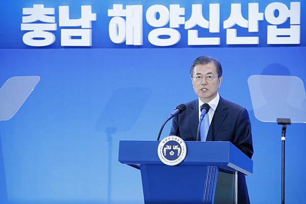Presiden Moon: Lima Industri Maritim Baru Akan Ditumbuhkan