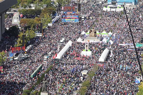 الحزب المعارض يخطط لتنظيم مظاهرة احتجاجا على سياسات حكومة مون